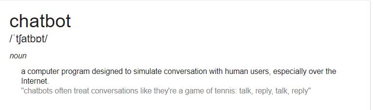 define chatbot3